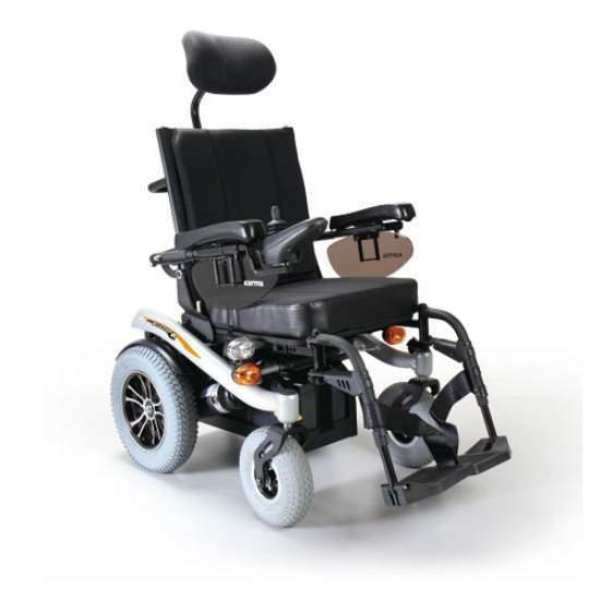 Blazer pour fauteuil roulant - Blazer chair, une chaise électrique compacte et réglable.