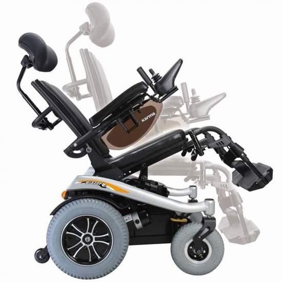 Bata De Cadeira De Rodas Inclinando T - Cadeira de rodas basculante