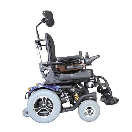 Fauteuil roulant Leon - Fauteuil roulant électrique et bras oscillant León