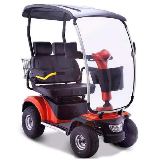 Scooter elettrico mobilità Nico 4046 due posti - Scooter elettrico a due posti Nico 4046 di mobilità per due persone recentemente incorporato nel nostro catalogo (gennaio 2018). È il modello più potente che offriamo e consente percorsi di circa 50 km con una sola carica della batteria...