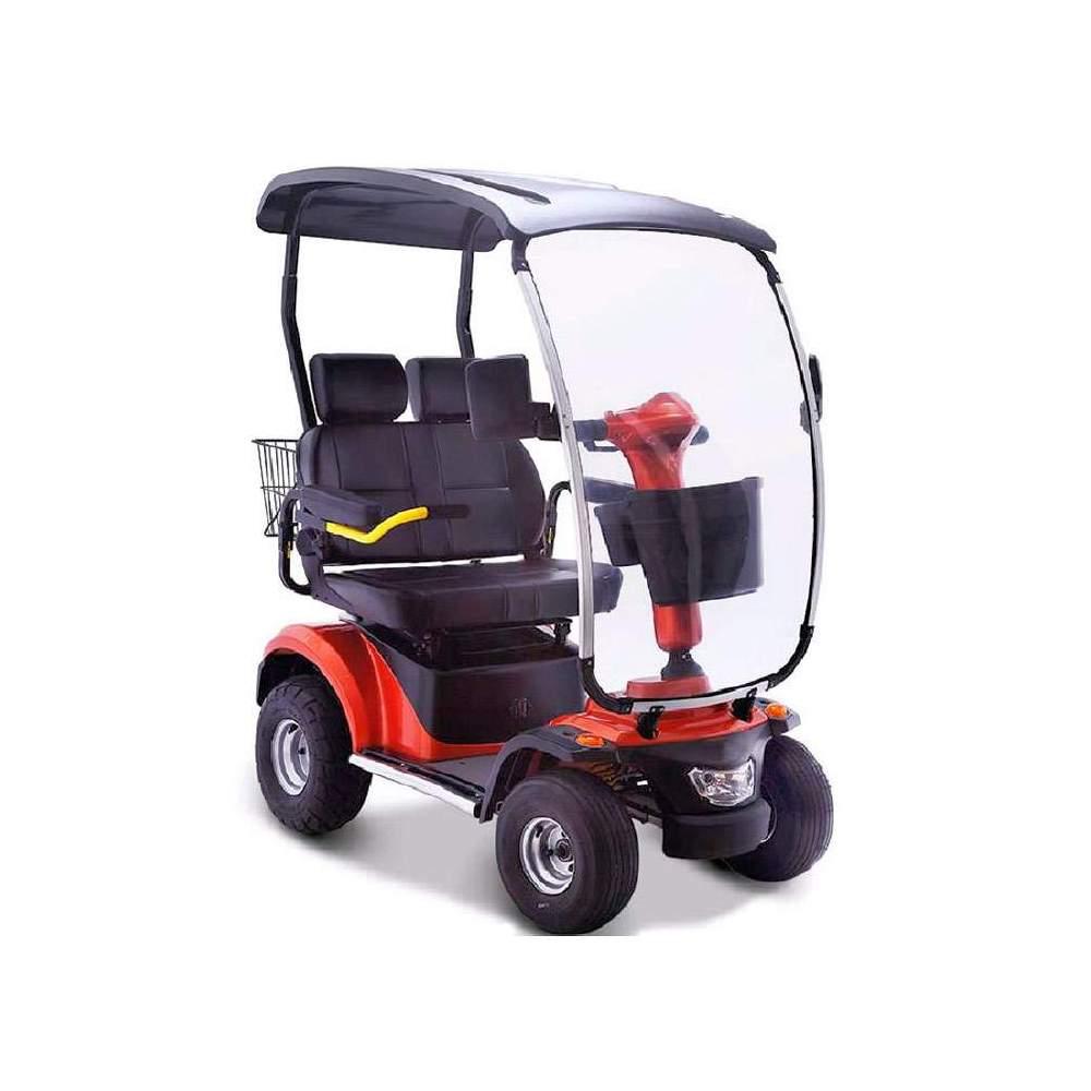 Scooter eléctrico de movilidad Nico 4046 biplaza - Scooter eléctrico Nico 4046 biplaza de movilidad para dos personas incorporado recientemente a nuestro catálogo (Enero 2018). Es el modelo más potente que ofrecemos y permite...