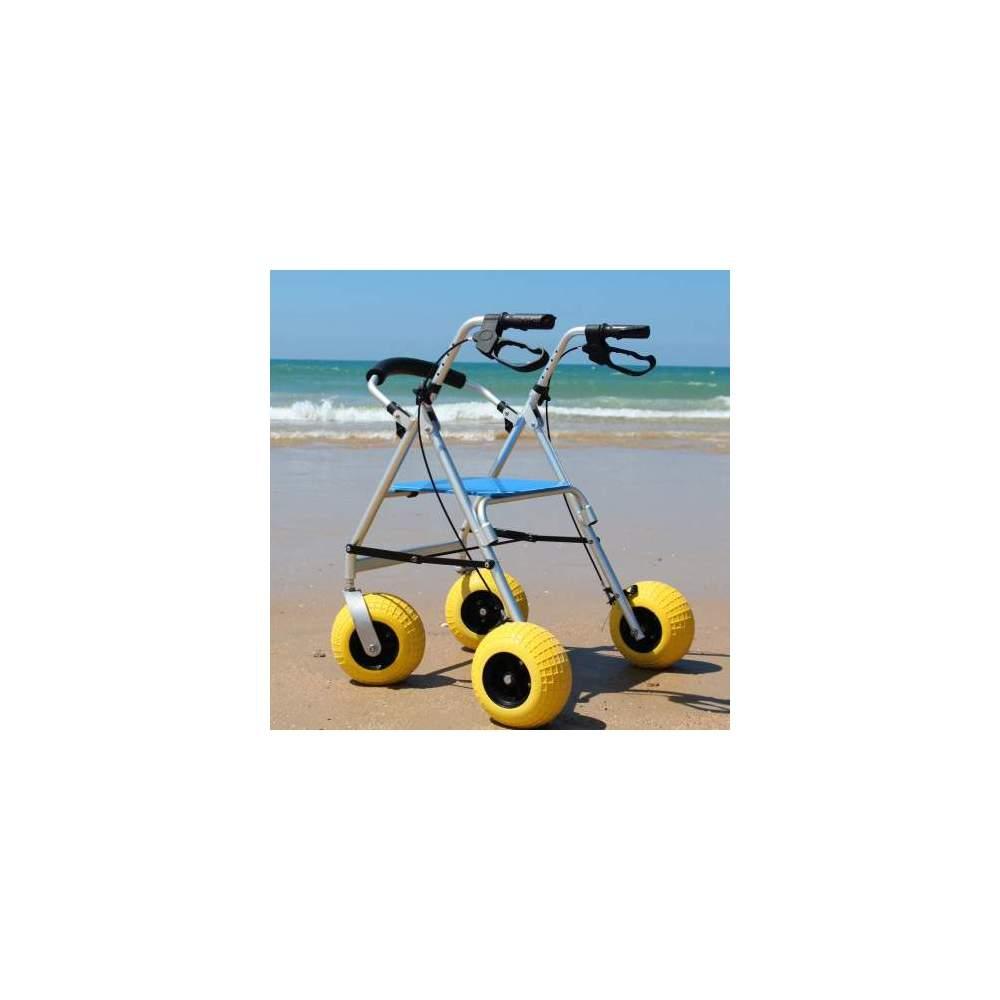 Andador para la playa Walker City - Andador para la playa, campo y zonas donde el terreno es irregular, adoquinado, arenoso,etc.Andador para la playa, campo y zonas donde el terreno es irregular, adoquinado,...