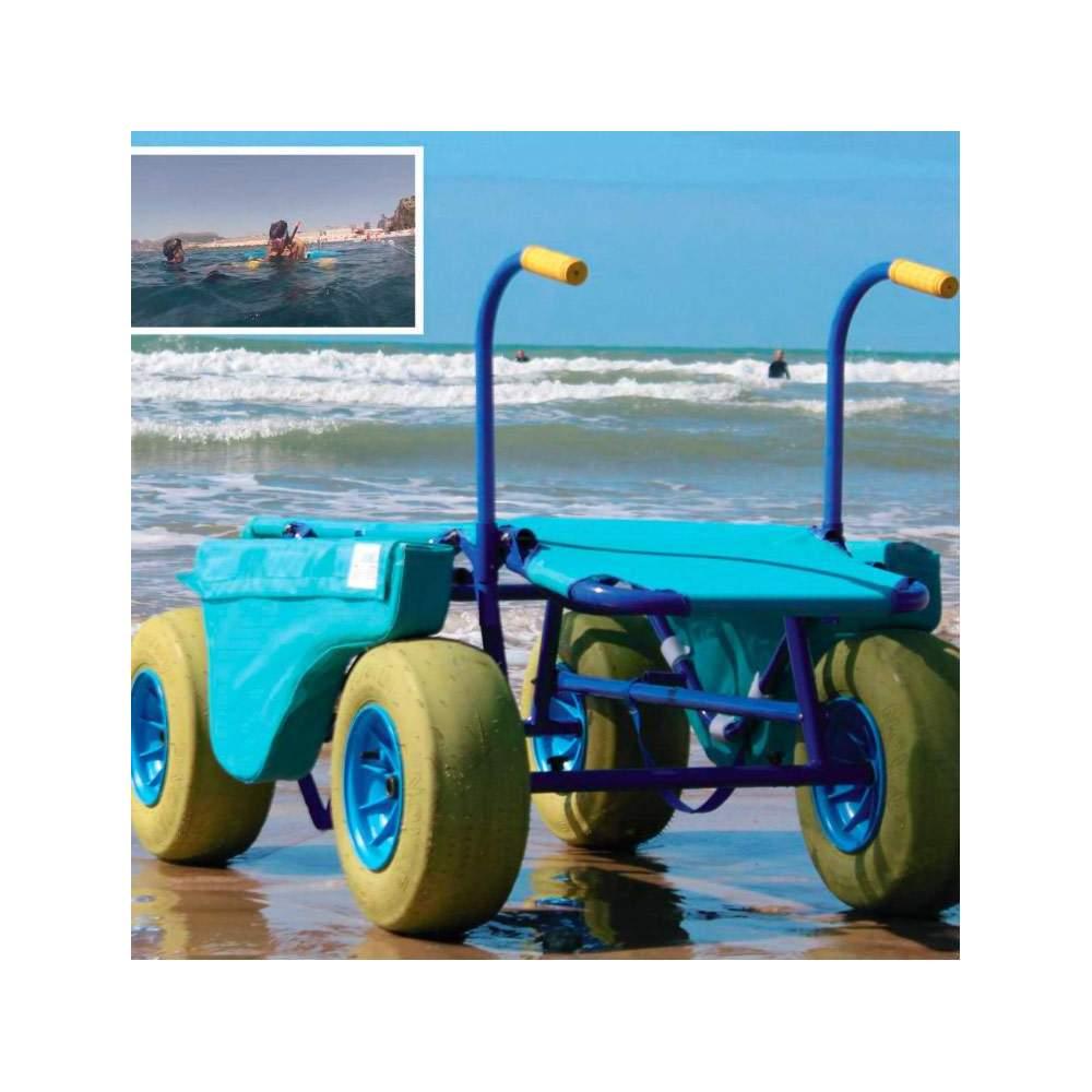 Silla de Buceo Snorkel - Enable - Es el primer elemento que sirve para que cualquier persona discapacitada o no pueda disfrutar y realizar un deporte tan maravilloso como es el Snorkel.