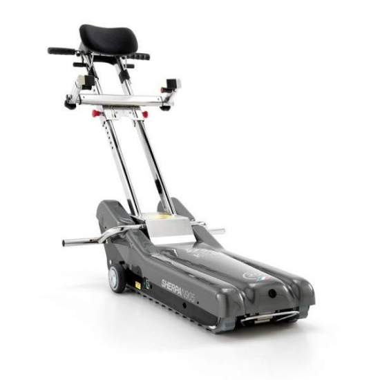 Caterpillar Sherpa Lifter - The Sherpa is thecaterpillar saves stairswhich helps users of wheelchairs to go up and / or down straight stairs.