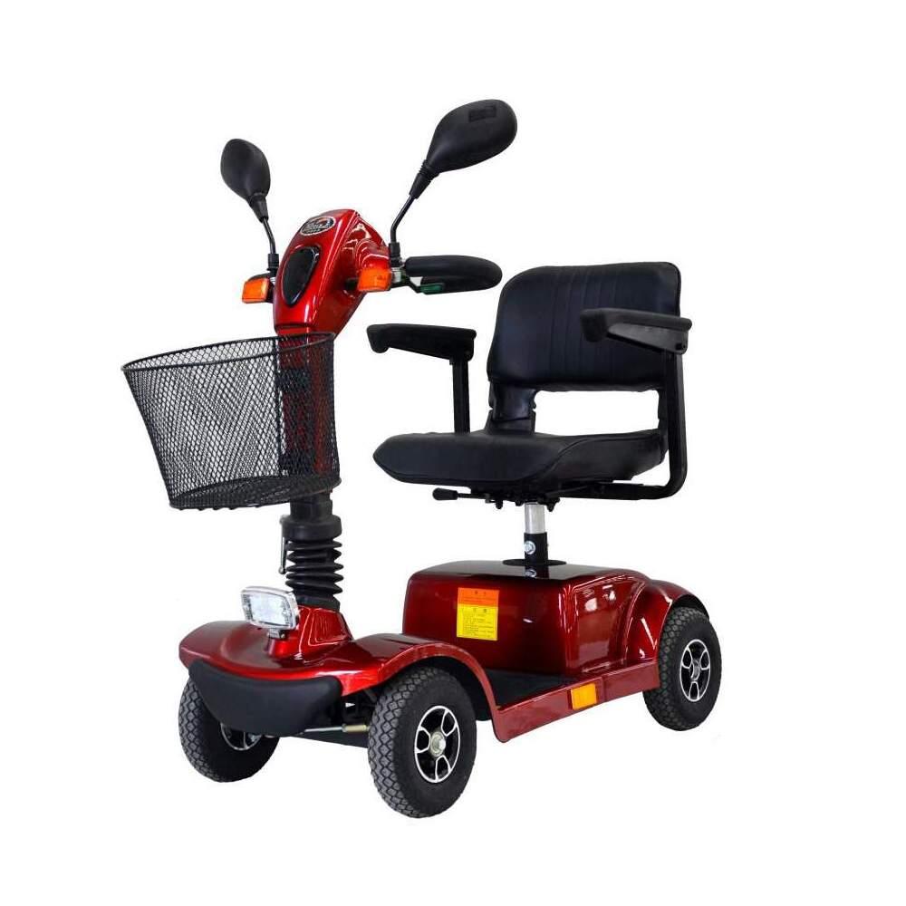 Scooter Nico 270-E - Scooter electrico pequeño y compacto con una longitud de tan solo 108cmDispone de una autonomia de 25km y suspension incorporado en el asiento
