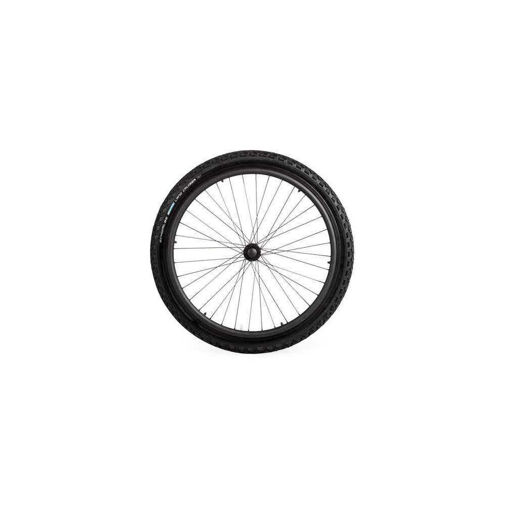 """Ruedas off-road 24""""x2"""" - Equipa tu silla de ruedas con estas ruedas todoterreno para circular con comodidad por terrenos inestables."""
