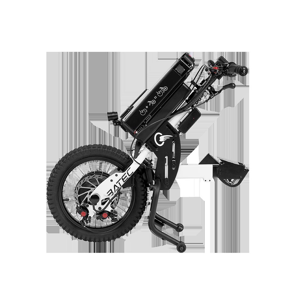 Batec Mini, el pequeño gran Batec - El BATEC MINI es nuestro handbike más compacto. Diseñado para ser pequeño sin perder un ápice de la calidad y la fiabilidad de los handbikes Batec, incorpora en su equipamiento...