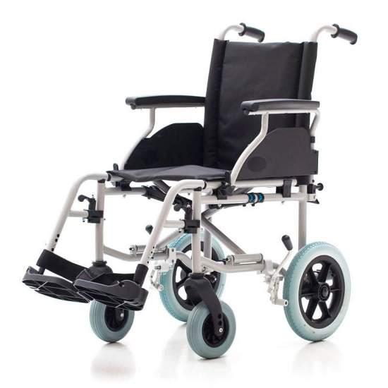 País cadeira de rodas 1412SR - Cadeira de rodas em aço com pequenas rodas traseiras r315