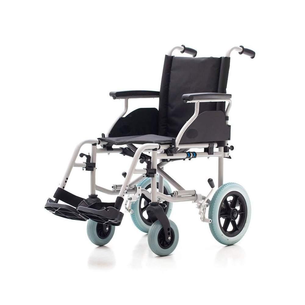 Silla de ruedas Country 1412SR - Silla de ruedas de acero con ruedas traseras pequeñas r315