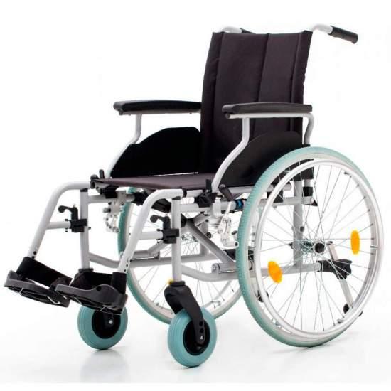 Silla de ruedas Country 1413SR - Silla de ruedas de acero con ruedas traserasgrandes r600