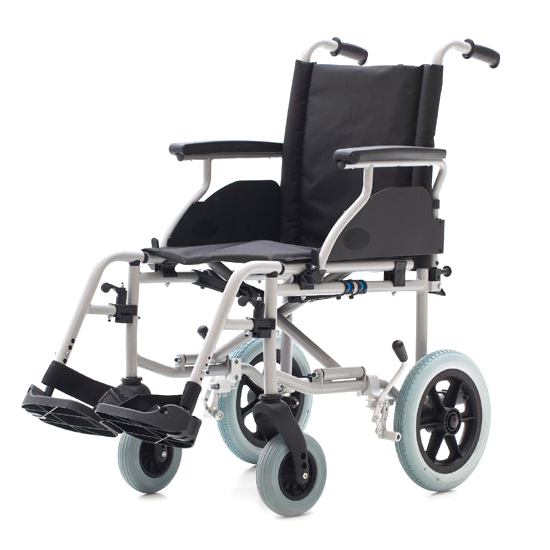 Wheelchair Country 1416SR - Steel wheelchair with small rear wheels r315