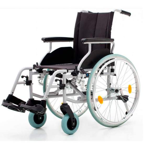 Silla aluminio Country 1417SR - Silla de ruedas de aluminio Country ruedasgrandes
