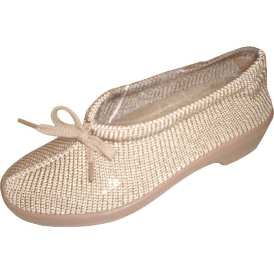 MESH SHOES Model New Lady TYPE Confortina - Shoe made of silk and acrylic yarn for a total adaptation to the foot, making anatomical template to obtain better support and comfort.