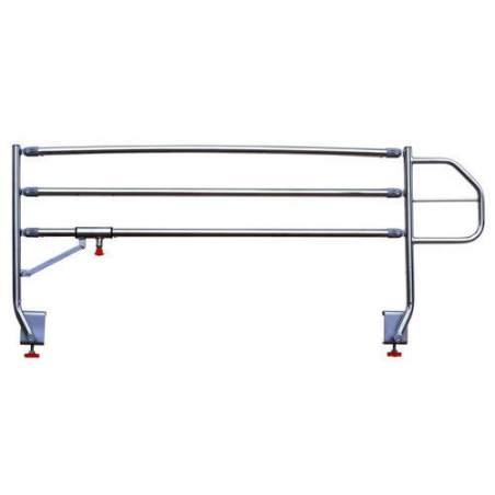 Cama articulada eléctrica de 4 planos GeriaLift PVC con carro elevador