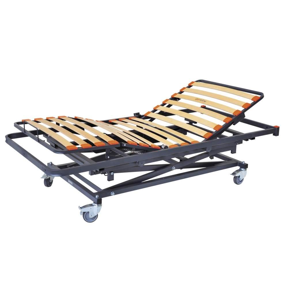 Cama articulada Vitalift - 90 x 190 cms - Cama sanitaria eléctrica articulada y elevación de 4 planos de 90 x 190 cms