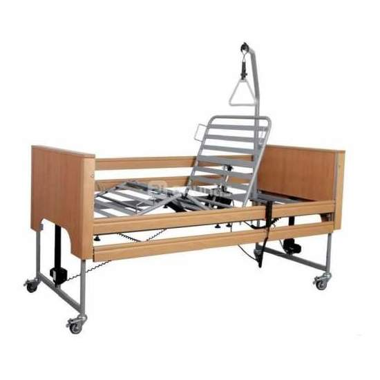 Ecofit Plus - Electric articulated bed with lift and wood kit