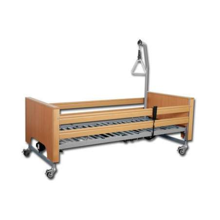 Articulated bed EcoFit Plus with lift truck + incorporator + handrails
