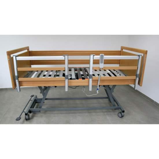 Geria Low cama para Alzheimer - Letto articolato con carrello elevatore elettrico misura 90 cm x 190 cm