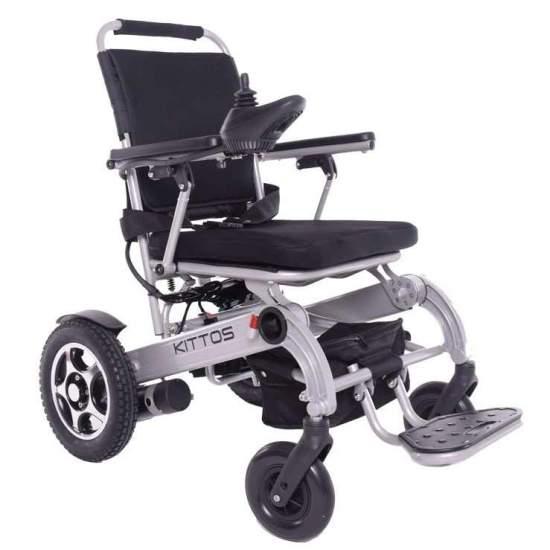 Silla de ruedas Kittos - La silla de ruedas eléctrica plegable KITTOS de aluminio es la mejor silla del mercado: Plegable, ligera, rápida, segura y robusta. Gracias a su reducido tamaño, y a su innovador sistema de plegado, en 3 segundos, puedes plegarla y...