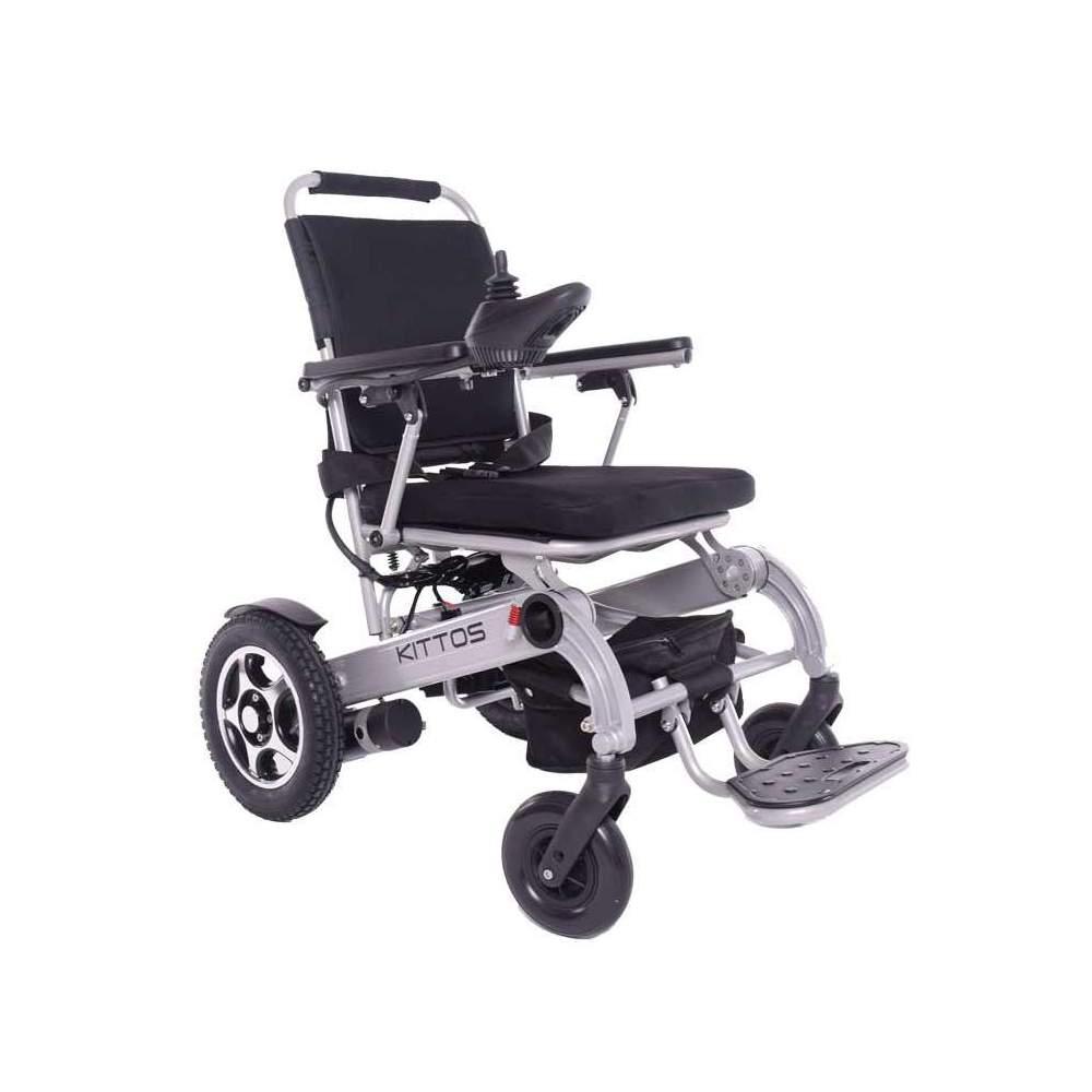 Silla de ruedas Kittos - La silla de ruedas eléctrica plegable KITTOS de aluminio es la mejor silla del mercado: Plegable, ligera, rápida, segura y robusta. Gracias a su reducido tamaño, y a su...