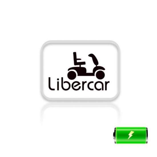Batteria per sedie a rotelle Libercar - Abbiamo batterie per i seguenti sedia a rotelle Libercar: Mistral, Power Chair, Emblem, Mistral 7, Mistral 10