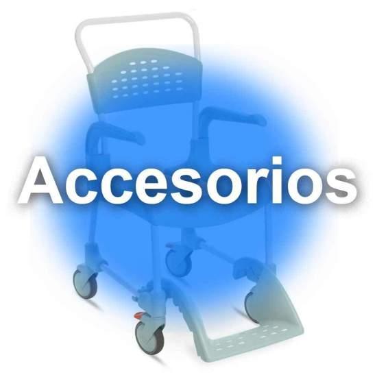 Accesorios Silla de Ducha y WC Clean  - CLEAN es lo último en diseño de sillas para la higiene. Cómoda, segura y fácil de usar. Cada detalle de la silla ha estado pensado para que cualquier situación sea de lo mas fácil para el usuario y para el cuidador.