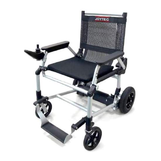 Light Joytec wheelchair - We present you theJoytec electric wheelchair . Inspired by the successful Zinger electric wheelchair, it shares its innovative ultralight design with its instant folding system, adding joystick driving.