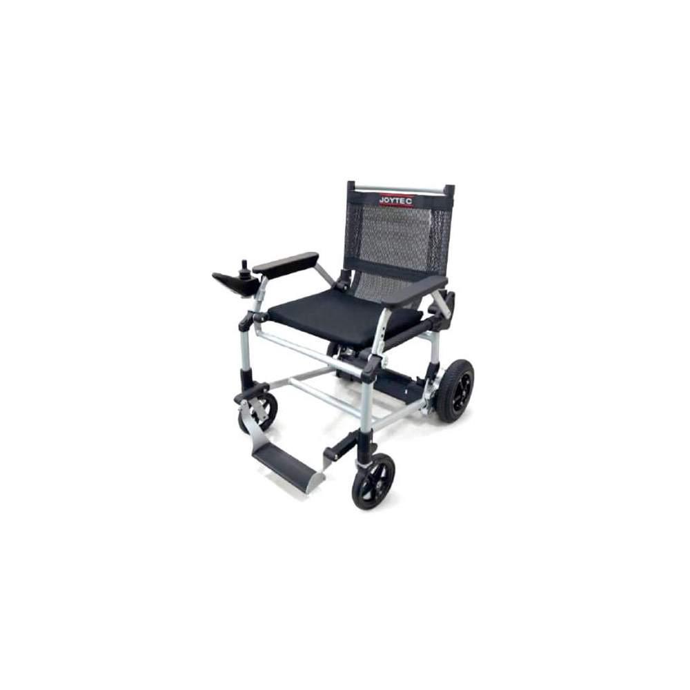 Silla de ruedas Joytec ligera - Te presentamos la silla de ruedas eléctrica Joytec. Inspirada en la exitosa silla de ruedas eléctrica Zinger, comparte con ella su innovador diseño ultraligero y su sistema de...
