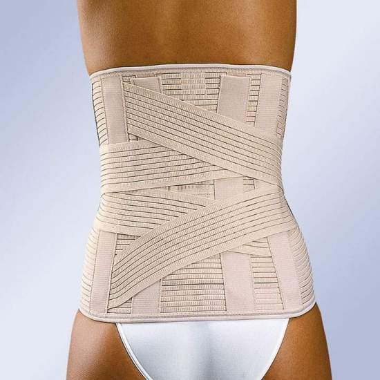 "GAZA lumbosacral ""LUMBITRON"" FORTE high - Lumbosacral belt ""lumbitron"" enhanced high"