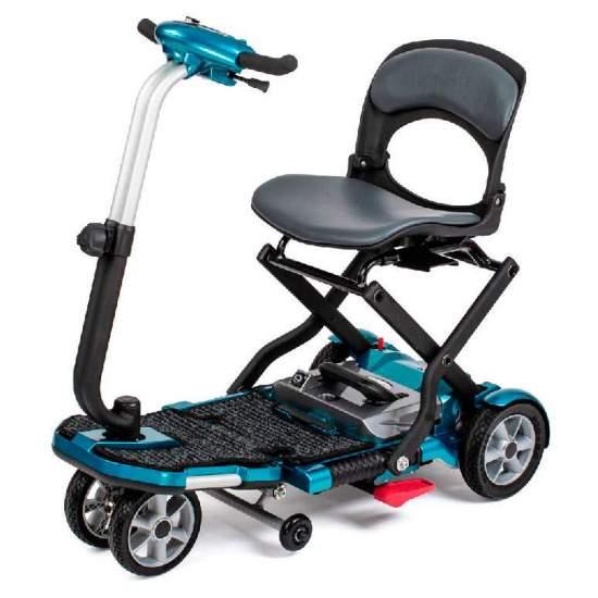 Scooter i Brio plegable - La I-Brio es la Scooter Apex que se puede plegar en un instante. Gracias a sus reducidas dimensiones podrás llevarla donde quieras