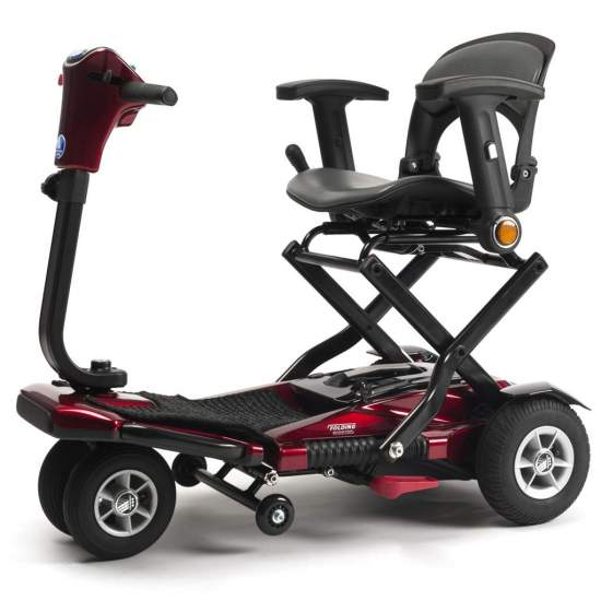 Scooter pieghevole Sedna - Lo scooter Sedna è lo scooter da trasporto ideale. Leggero, compatto e pieghevole in meno di un minuto, facile da trasportare come un trolley, treno o aereo (inclusa la batteria!).
