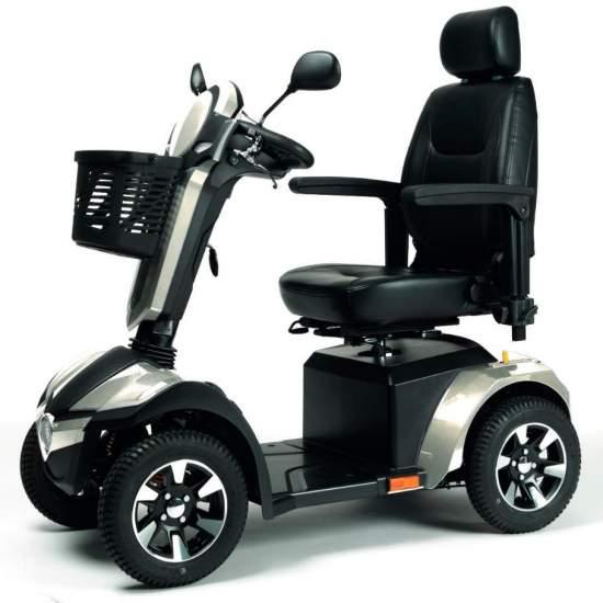Scooter Mercurius - Scooter eléctrico Mercurius con llantas deportivas
