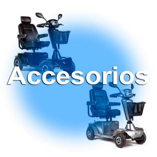 Accesorios para Scooters S400, S425 y S700 Sterling - Accesorios para Scooters S400, S425 y S700 Sterling de la marca Sunrise Medical