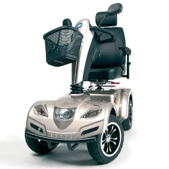 Scooter Carpo 2 - 4 wheel scooterresistant and comfortable, ideal for outdoor use.