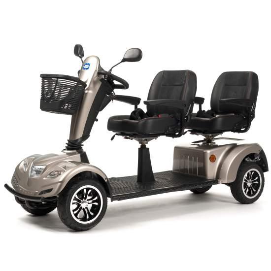 Scooter Doble Carpo Limo - Scooter doble similar a la Carpo 2 pero ésta vez para ti y para tu compañero/a.