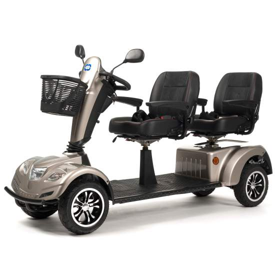 Scooter Double Carpo Limo - Double scootersimilar to Carpo 2 but this time for you and your partner.