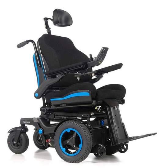 Sedia a rotelle Q700 F SEDEO Ergo - Carrozzina elettrica con trazione anteriore