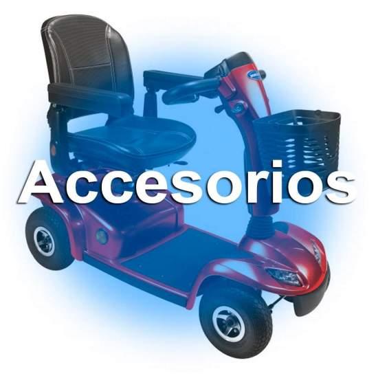 """Accesorios para Scooter Leo Invacare 4 ruedas - El Invacare Leo es un scooter de 4 ruedas rediseñado este año 2014 para usuarios que valoran su independencia y su autonomía. La seguridad es una característica clave del Leo, sin prescindir de un """"Look"""" deportivo y estilizado."""