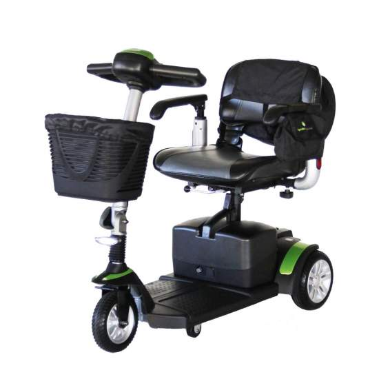 3 Wheel Scooter Eclipse Plus + - HeECLIPSE + scooternow in 3 wheel version. It offers great finishes and exceptional standard equipment. It incorporates a removable bag with handle.