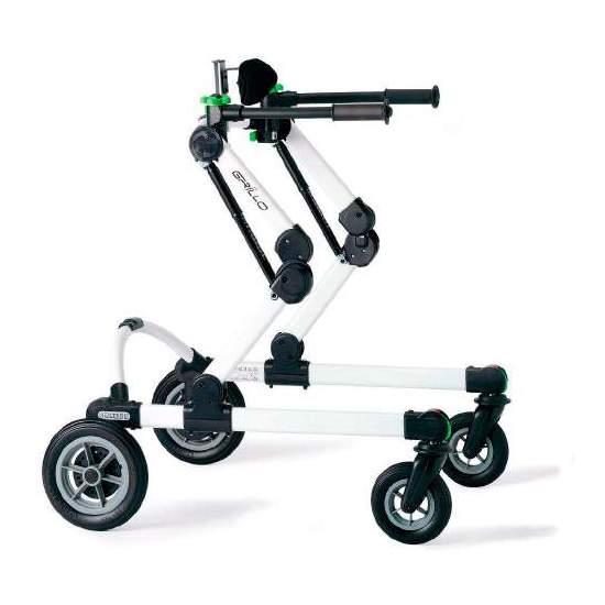 Girello di cricket posteriore - Il cricket walkerè progettato per aiutare e / o facilitare il movimento autonomo del bambino e dell'adulto. Il suo design originale e il suo sistema di regolazione dell'altezza brevettato lo rendono unico in termini di sicurezza ed...