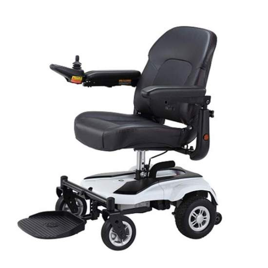 Electric wheelchair Box - The electric wheel chair Box is designed for city use. Compact dimensions that allow you to maneuver in tight spaces.