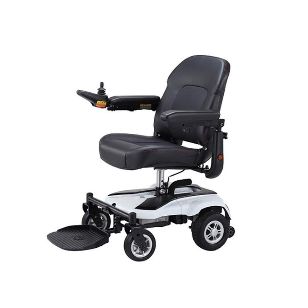 Box en fauteuil roulant électrique - Le fauteuil roulant électrique Box est conçu pour une utilisation urbaine. Dimensions compactes qui vous permettent de manœuvrer dans des espaces restreints. Cod. SS12212703