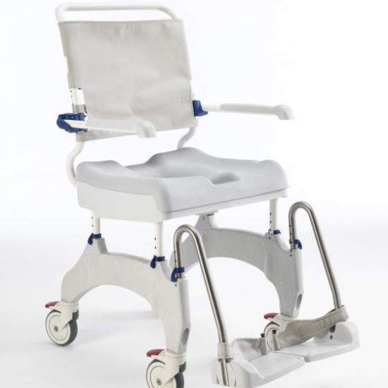 "Ocean Ergo shower chair 5 "" - TheAquatec Ocean Ergo ChairIt has been designed taking into account the user's comfort and independence. The Aquatec Ocean Ergo brings new features, compared to the previous model, to facilitate the personal care of both the user and the..."