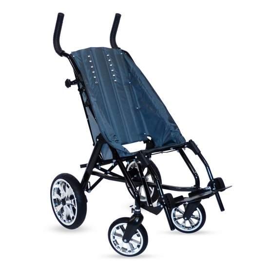 Zip sedia a rotelle Buggie -  Zip soddisfa i requisiti principali che i bambini, i genitori e gli operatori sanitari hanno bisogno: comfort, sicurezza, eccellente mobilità e indipendenza. Inoltre, il suo sistema di chiusura unico rende il passeggino Zip il più...