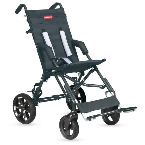 Passeggino Corzo Patron - Il passeggino è completamente piegata Corzo, con un design autentico, funzionale e leggero.