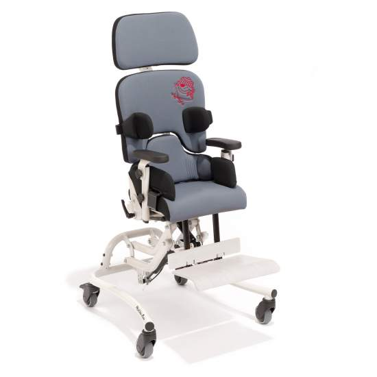 Fun Madita chair Interior -  Fun madita extends the benefits of therapeutic Madita seat, allowing the seat height can be adjusted to ground level. This option makes it much easier to integrate children in support of early learning, child care, schools and at home.