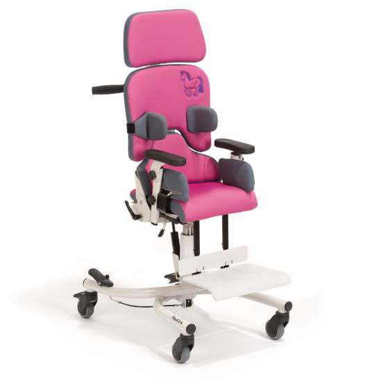 Madita chair Interior -  At school or at home therapeutic chair Madita get the positioning that every child needs: an upright, controlled and functional thanks to its range of individually adjustable seat and its multi-level control accessories trunk, pelvis...