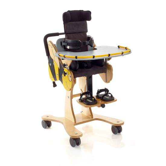 Indoor chair Bee - Specifically designed to appeal to very young children and their families, Bee was developed together with therapists and caregivers, making the first system for a child seat is cheerful and in turn have a correct support in the sitting...