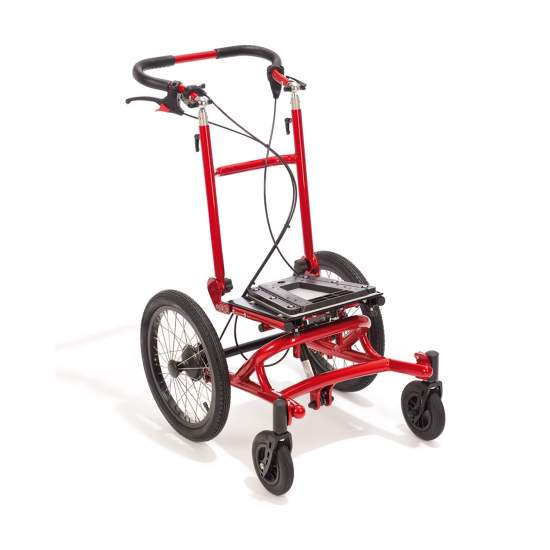 Compact, lightweight chassis Finn - Finn chassis is comparable to a stroller and offers the possibility of a chassis for special seats, thanks to the smaller depth.