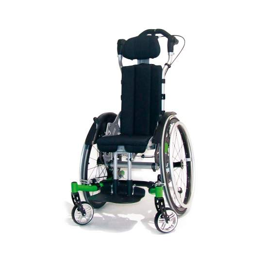 VTI Swingbo - Many children with capacity to propel itself, require effective systems seat tilt positioning.